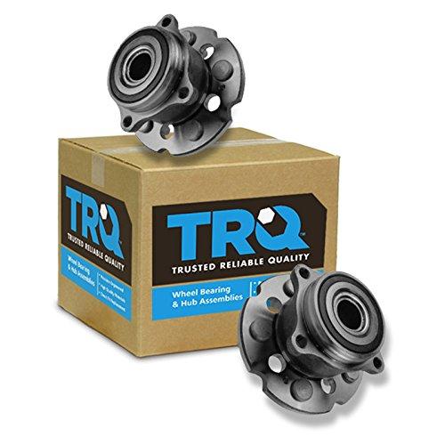 TRQ Rear Wheel Hub & Bearing Driver & Passenger Pair for MDX ZDX Pilot 4WD 4x4