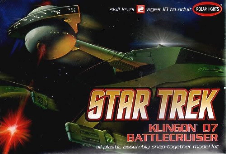 Star Trek 1 1000 Scale Model Kit  Klingon D7 Battlecruiser