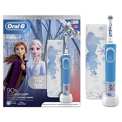 Oral-B Kids Brosse à Dents Électrique, La Reine des Neiges 2