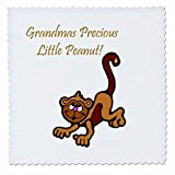 3dRose qs_56835_1 Grandmas Precious Little Peanut on White
