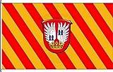 Königsbanner Hochformatflagge Eschborn - 150 x 500cm - Flagge und Fahne