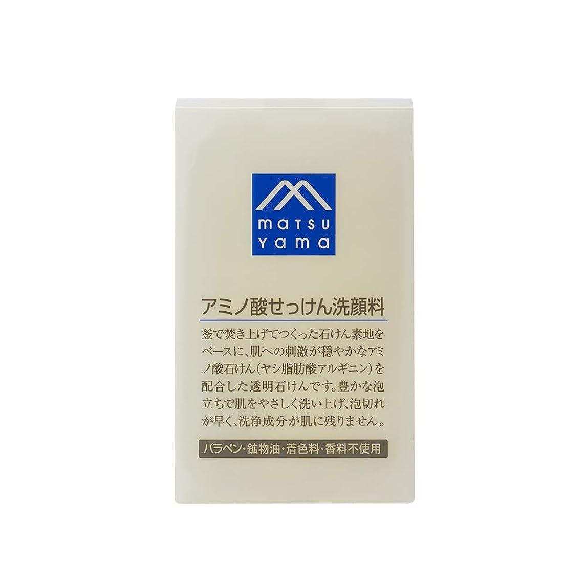 程度ペースボーナスMマーク(M-mark) アミノ酸せっけん洗顔料 90g