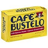 Café Bustelo Coffee Espresso Ground Coffee Brick, 6 Ounces (Pack of 12)