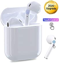 Bluetooth Wireless Earbuds Noise Canceling Sports Headphones with Charging Case IPX5 Waterproof...