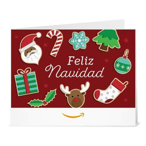 Amazon Gift Card - Print - Golosinas Navideñas
