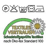 Boqingzhu Wendebettwäsche Rosa Altrosa Grau 135×200 Uni Unifarben Microfaser Bettwäsche Set 2 Teilig, 135×200+80×80 cm - 7