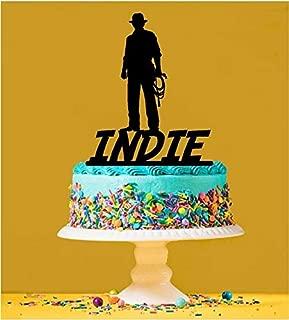 Personalised Indiana Jones Cake Topper