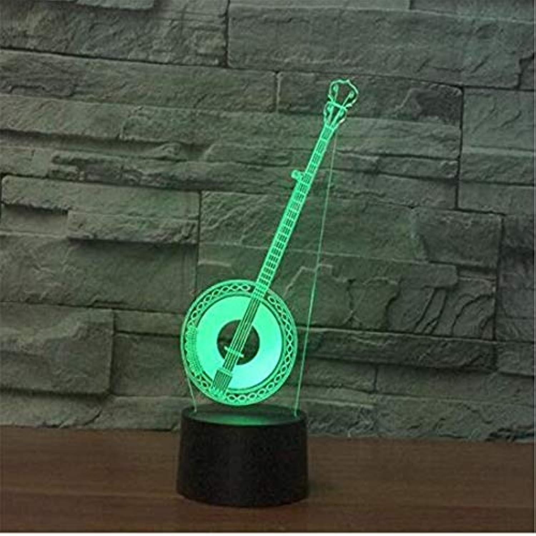 Led-Lichter Edison Lights 3D-Licht-bunte Noten-Fernbedienung führte visuelles Licht