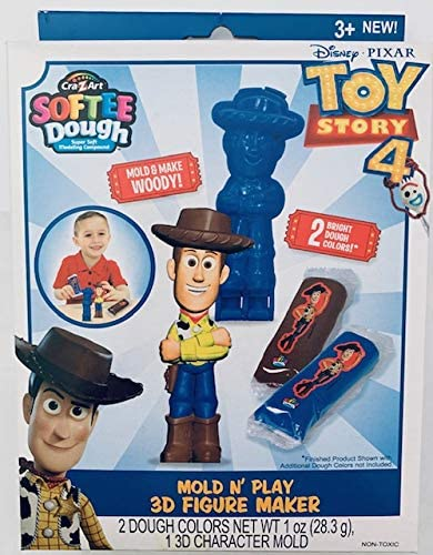 Disney Toy Story 4 Mold Make Woody Mold N Play 3D Figure Make product image