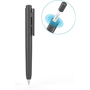 Funda protectora de Aluminio de grado aeronáutico para Apple Pencil Funda delgada de la pluma