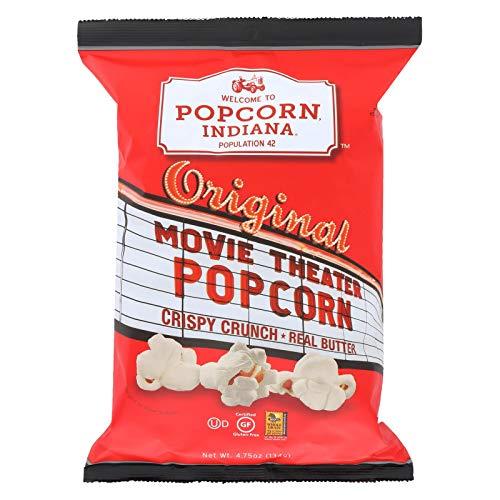Best Prices! Popcorn Indiana Popcorn - Movie Theater - Case of 12 - 4.75 oz.