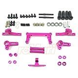 3Racing Sakura D4 RWD Aluminum Front IFS Damper System Pink #SAK-D4846/PK