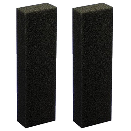 Eshopps Large Foam Filter 4 x 2.25 x 13.5 Inches (2 Pack)