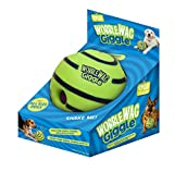 Wobble Wag Giggle Ball, Interactive Dog Toy, Fun Giggle Sounds When Rolled or
