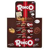 Pavesi Espositore Ringo, Biscotti Farciti con Crema al Gusto Cacao per Colazione o Gustoso Snack, senza Olio di Palma, Espositore con 24 Pezzi da 55 g, Totale: 1320 g