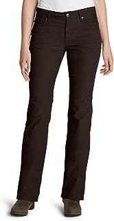 Women's Curvy Bootcut Cord Pants