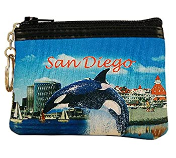 Americaware SPSDC01 San Diego Full Color Coin Purse