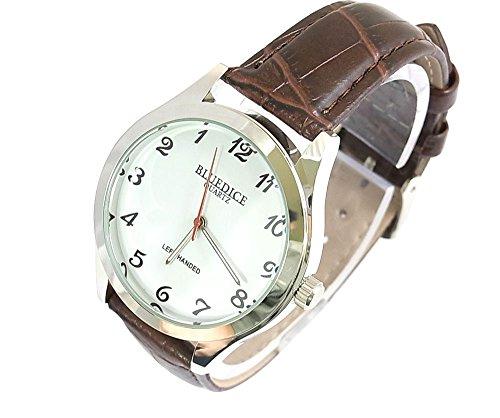 逆回転腕時計 ej138whbr 1ヶ月保証書付 希少品 超不思議 メンズ腕時計 男性腕時計 紳士腕時計