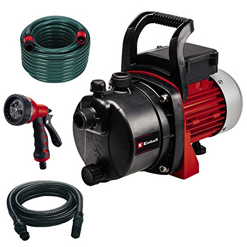 Einhell Gartenpumpen-Set GC-GP 6538 Set/I (650 W, max. 3.6 bar, 3800...