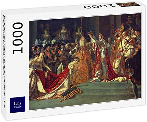 Lais Puzzle Jacques-Louis David - Unción de Napoleón I y Coronación de la Emperatriz Josefina 1000 Piezas