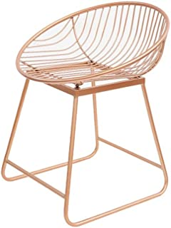 NMDB Tabouret Bar  Chaise Bar Fer forge Tabouret Bar Tabouret Bar Tabouret Haut Chaise Moderne metal Loisirs Minimaliste  Couleur Rose  Taille 42cm