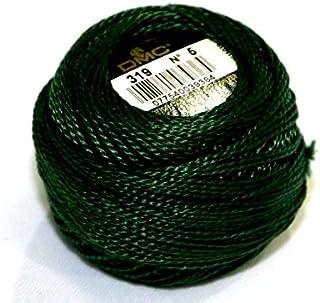 DMC Cotton Perle Thread Size 5 319 - per 10 gram ball