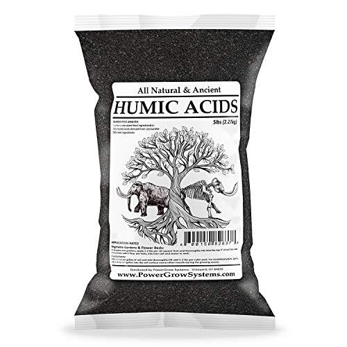 Humic Acids - Granular Humic Acid Fertilizer & Conditioner (HUMIC Acid 5 LB Bag)