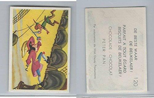 1958 De Beukelaer Biscuits, Chocolate, Walt Disney, Peter Pan, 120, ZQL