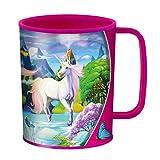 3D LiveLife Bicchiere - Incanto di Unicorno di Deluxebase. Bicchiere in plastica Magia 3D Lenticolare. Bicchieri in plastica da 300ml per bambini con grafica originale del noto artista Michael Searle