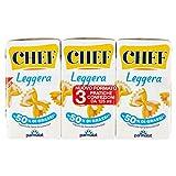 CHEF Leggera Panna da Cucina UHT 3 x 125ml