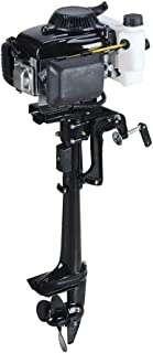 SEA DOG WATER SPORTS 4 Stroke 4.0HP Superior Engine Outboard Motor for Inflatable Kayak Fishing