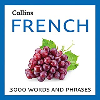 Learn French: 3000 Essential Words and Phrases                   By:                                                                                                                                 Collins Dictionaries                               Narrated by:                                                                                                                                 Collins                      Length: 5 hrs and 58 mins     Not rated yet     Overall 0.0