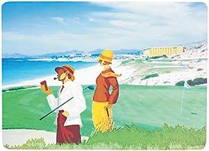 "Navika PGA Beachside Golf Placemat, Green, 15 1/4 x 11 1/2"""