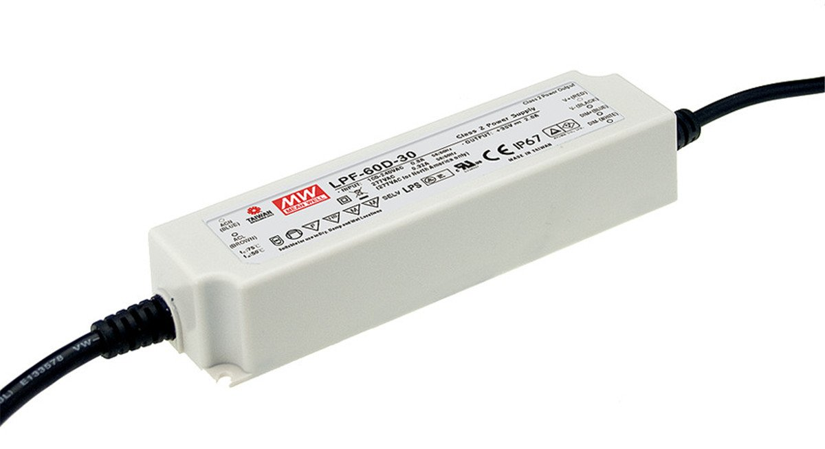 Class 2 Tulsa Mall Switching LED Factory outlet Driver Power Supply IP67 3 Encapsulated in