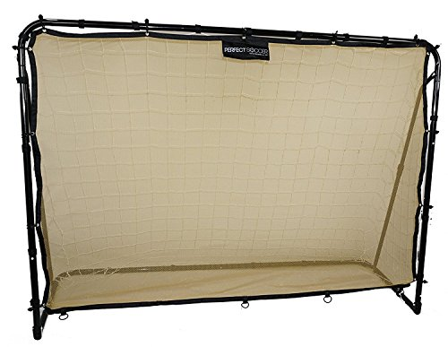 Perfect Soccer Premium Portable Soccer Goal + Rebounder Soccer Goal 2 in 1 Free Carrying Bag - Portable Soccer Training Equipment - 6 x 4 Soccer Goal for Kids and Adults