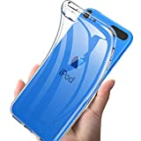For iPod Touch 7 / iPod touch 6/5 ケース 透明 対応 Touch第6世代/第5世代 兼用ケース クリア カバー 薄型 phone case 【2020進化版】保護 軽量 防水TPUソフトシリコン 耐衝撃 一体型 防指紋 散熱加工 Touch7
