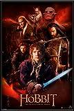 Poster mit Rahmen 61 x 91,5 cm, Schwarz - Der Hobbit 2 -