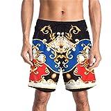 Trajes De Baño Playa para hombres Tablero de natación para hombre cortos Casual Hawaiian Surf Quick Secking Shorts Nadar Troncos Pantalones cortos de playa Trajes de baño Cintura de cintura alta Panta