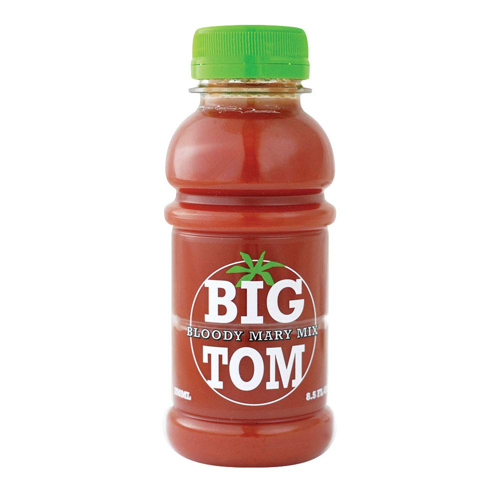 BIG TOM - Premium Bloody Mary Mix- Spiced Tomato Juice 8.5 Ounce (Pack of 12) Non GMO, Gluten-Free, Vegan