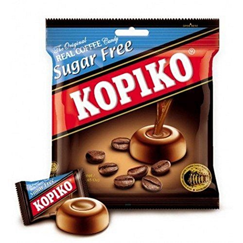 Kopiko Real Coffee Candy Sugar Free 25 Tablets X 3 Grams
