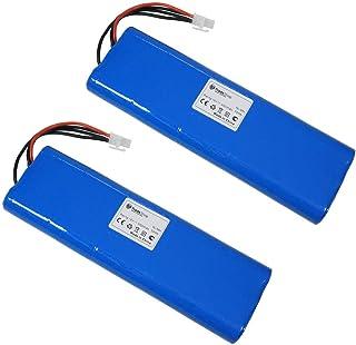 2 baterías Ni-MH de alto rendimiento, 18 V/3000 mAh para robot cortacésped Husqvarna Automower G2 (2004-2006) 210C 210AC 220AC 230ACX 260ACX 265ACX Solar Hybrid SH