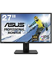 ASUS プロ向けディスプレイPB27UQ(27型/4K/3840x2160/広視野角/IPS/sRGB100%/DP,HDMI/ピボット/VESA/スピーカー付)