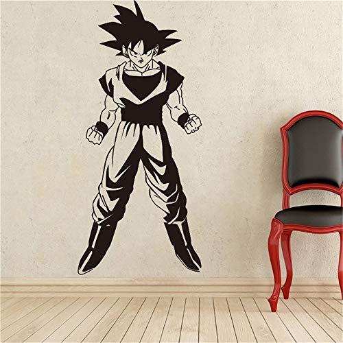 Wandaufkleber Schlafzimmer Dragon Ball Wandtattoo Dragon Ball Z Goku Wandtattoo Vinyl Comics Anime Cartoons Home Decoration Abnehmbare Aufkleber