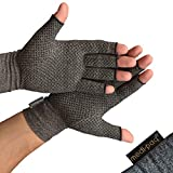Medipaq Anti-Arthritis Gloves (Pair) - Providing Warmth and Compression to Help Increase Circulation Reducing Pain and Promoting Healing 1X Pair (Medium)