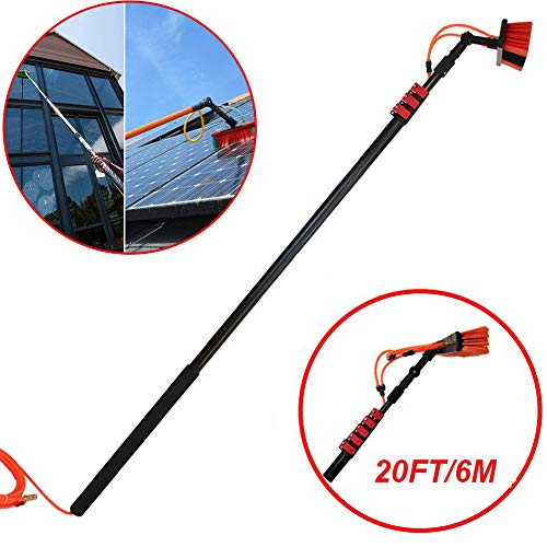 BBMMCLL 3.6m-9M, Telescopische Extension Pole Cleaning Kit Geschikte, Geschikt voor Photovoltaic Panel Cleaning, Trucks Windows, Window Glass Wall