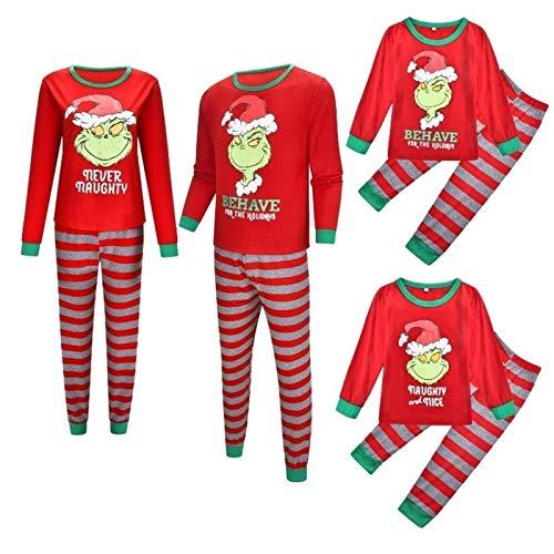 Rcsinway Xiaoli Print Herbst und Winter Neue Home Kleidung Pyjamas Set...