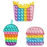 VOFUOE Fidget Pop Toys Push it Bubble Sensory...
