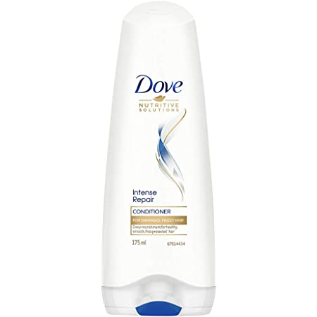 Dove Intense Repair Conditioner For Damaged, Frizzy Hair, Deep Nourishment For Healthy, For Smooth, Frizz Protected Hair, 175 ml