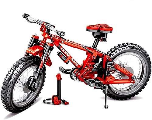 XMZWD Micro Diamond Particles Mini Building Blocks Bike Building Blocks Model 3D Puzzle Educational Games Toys for Children