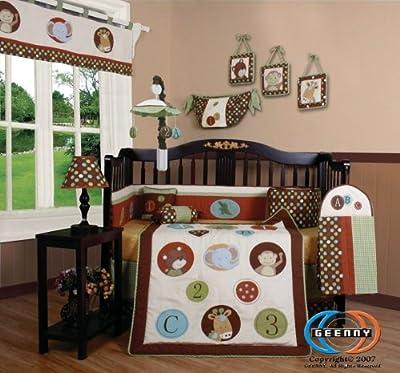 GEENNY Boutique Crib Bedding Set-Parent